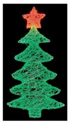 PREMIER LV191172  74Cm Acrylic Xmas Tree With Star